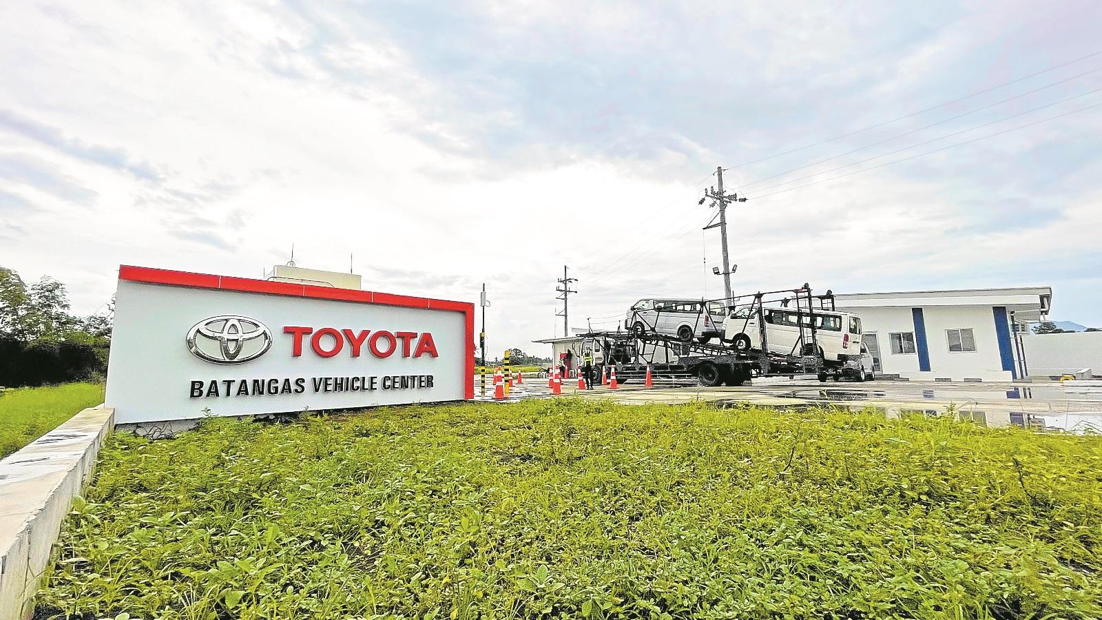 toyota batangas vehicle center