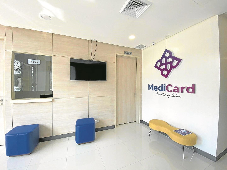 medicard reception